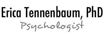 Erica A Tennenbaum, PhD 212-496-2328 · info@drericatennenbaum.com ·  156 West 86th Street, Suite 1B New York, NY 10024